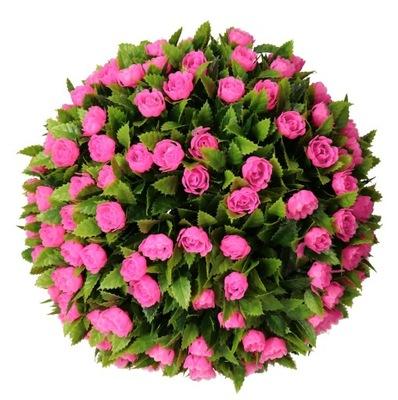 ??? FLORAL роза 27 СМ искусственные цветы розовая