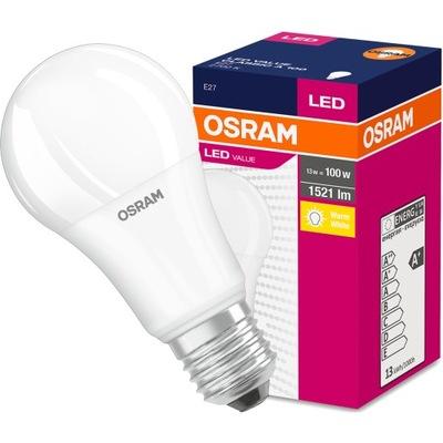 Лампа LED A60 E27 14W 100W 1521lm 2700K Osram