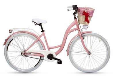 Mestský bicykel GOETZE Style 28 3b + kôš ĽAHKÁ