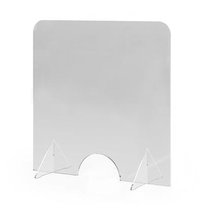 pleksi plexi ochronna na lade biurko sklepu 55x85