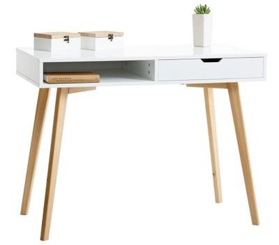 Письменный стол сканд-туалетный столик 100x50cm Белый /???