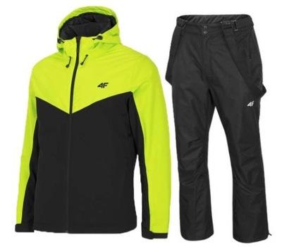 Zestaw narciarski męski 4F spodnie i kurtka S