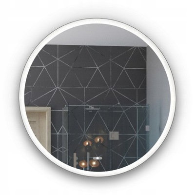 зеркало для Ванной комнаты с Подсветкой LED Ощупь 80x80 L76