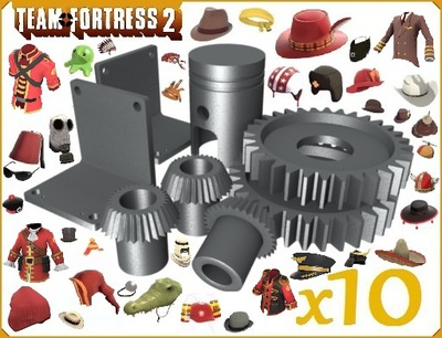 Metal Rafinowany - 10 sztuk Team Fortress 2 TF2