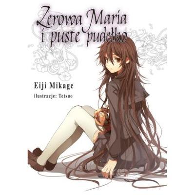 Eiji Mikage Zerowa Maria i puste pudełko 3 NOWA