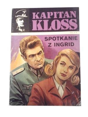 KAPITAN KLOSS 7. SPOTKANIE Z INGRID 1972 r. wyd. 1