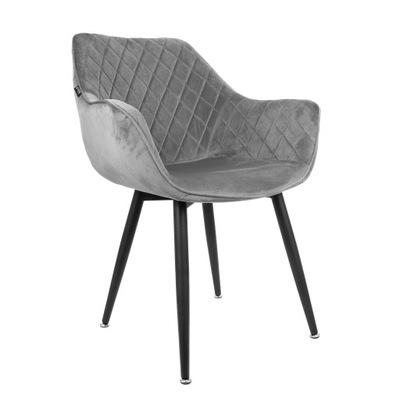 Krzesło fotel tapicerowany pikowany kolory AH 01
