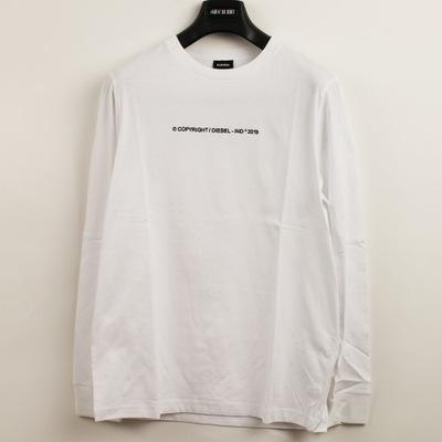 Bluzka męska DIESEL biała rozmiar M Longsleeve