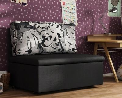 Kanapa Sofa 1os. Fotel rozkładany POLO 90