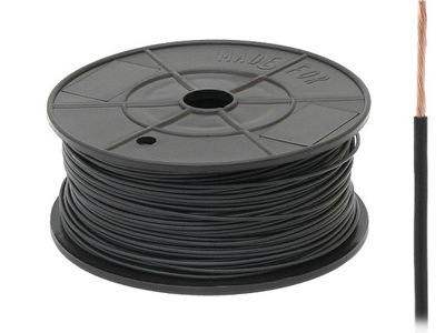 CABLE FLRY-B 1X0,50MM² NEGRO 100MB 73-200