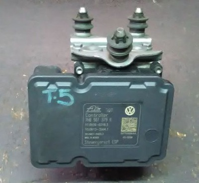 VW T5 TRANSPORTER НАСОС ABS 7H0907379R 7H0614517B
