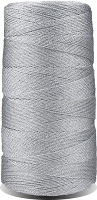 Nowosolski Kordonek Metalizowany 4 Lśniący Srebrny