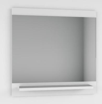 зеркало С ПОЛКА белое