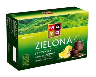??? зеленый с Лимоном MAYO 80x1,7g экспресс