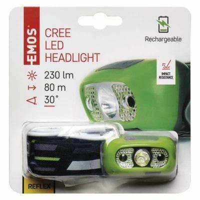Latarka czołowa LED EMOS P3534 czujnik ruchu 5W