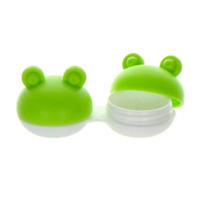 Pojemnik na soczewki Qcase - żabka