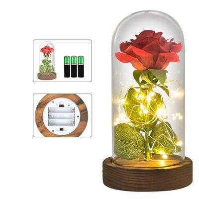 Wieczna Roza W Szkle Swiatelka Led Flower Box Rose 9482243020 Oficjalne Archiwum Allegro