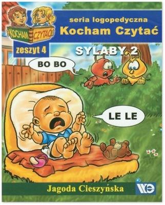 Sylaby 2 Kocham Czytac Zeszyt 4 Cieszynska 9588415546 Oficjalne Archiwum Allegro