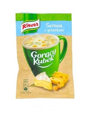 Knorr чашка горячего много сыра с гренками 17g ???