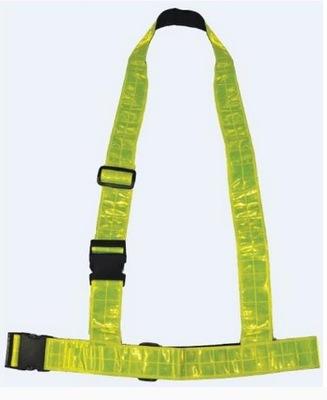 szelki odblaskowe Ozone Fluo Yellow pas widoczny
