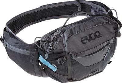 EVOC HIP PACK PRO 3l black - carbon grey / nerka /