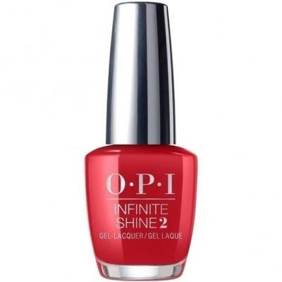 OPI Infinite Shine Lakier Big Apple Red ISL N25