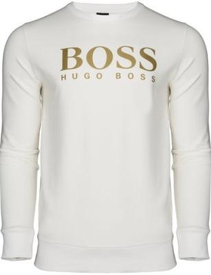 HUGO BOSS klasyczna bluza sportowa biała r.XXL