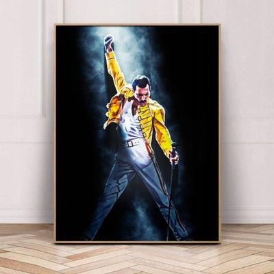 Obraz na płótnie Freddie Mercury Queen 100x130cm