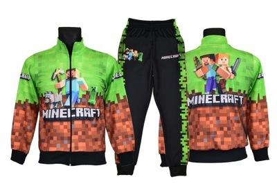 DRES MINECRAFT bluza spodnie wzór M10 rozm. 158