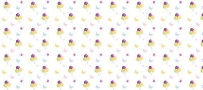 Dyha 536 cm 240 cm 12 ks stena pastelových balónov