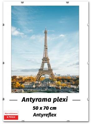 ANTYRAMA 50x70 - 70x50 cm ANTYREFLEKS, RAMKA !