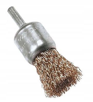 SZCZOTKA DRUCIANA PĘDZELKOWA 25 mm na wiertarkę