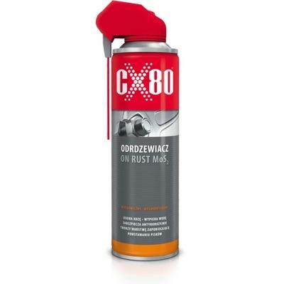 CX80 ON RUST MoS2 500ml ODRDZEWIACZ NA RDZĘ