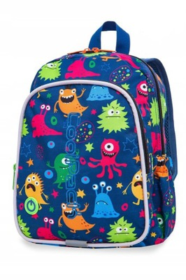 CoolPack Plecak BOBBY LED MONSTERS A23206