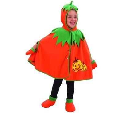 Strój dla dzieci peleryna DYNIA 92/104cm Halloween