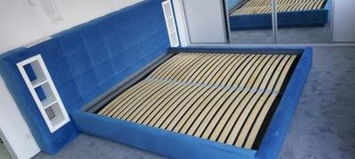 Łóżko Boston 160x200 tapicerowane podwójne Loft