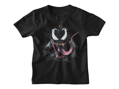 Dziecięca koszulka t-shirt WZORY VENOM -M