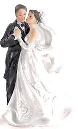 Figurka TANIEC romantyczna na tort weselny ślubny