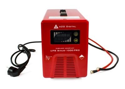 12 V núdzové napájanie Sinus-1000 PRO 1000 W 230 V.