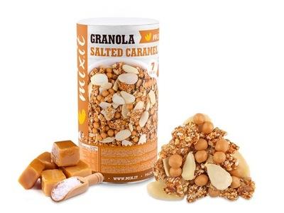 Granola z pieca - słony karmel orzechy MIXIT 570g