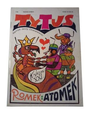 TYTUS księga XXI 1994 r. wyd. I