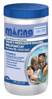 Хлор длительного действия 20g - 1 ,2 кг Марина