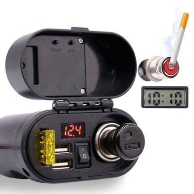 FREEDCONN MC16 ГНЕЗДО ПРИКУРИВАТЕЛЯ MOTO USB 3.1A
