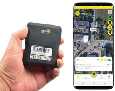 LOCALIZADOR GPS BAT. 5 000MAH MAGNES PODSLUCH