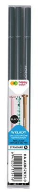 Wkład wymazywalny USZAKI Happy Color 3 sz czarny