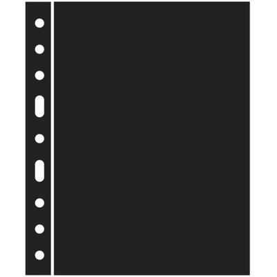 Leuchtturm - przekładka czarna Grande ZWL