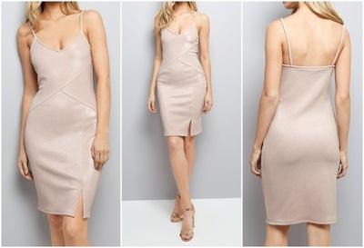 Sukienka NL Foil Rib Bodycon L 0610003/40