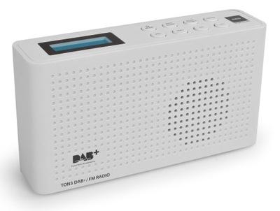 Mini Radio DAB+ FM Przenośne Wbudowany Akumulator