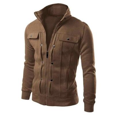 Modna kurtka bluza męska przejściowa XL