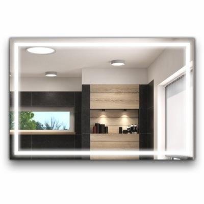 зеркало с подсветкой для ванной комнаты LED 80x60 L15-S